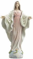 "10.5"" Our Lady of Grace Statue Figurine Figure Virgen Milagrosa Saint Religious"