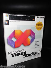 Microsoft Visual Studio Professional 6.0 PRO Basic C++ Foxpro J++ 659-00390 BOX