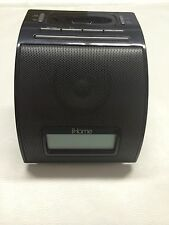 iHome Alarm Clock For iPhone & iPad Model iP11  Black