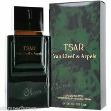 Van Cleef & Arpels Tsar  Eau de Toilette Spray 3.4oz  * New in Box Sealed *