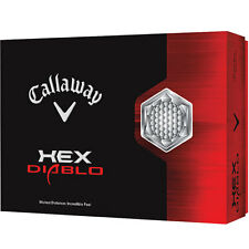 CALLAWAY HEX DIABLO 1 DOZEN GOLF BALLS - NEW IN BOX - VALUE PLUS!
