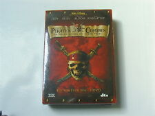 PIRATES DES CARAIBES LA MALEDICTION DU BLACK PEARL  COFFRET  3 DVDS NEUF