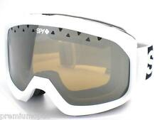 SPY OPTIC Ski Snowboarding TREVOR Goggles White / Bronze with Silver MIRROR Lens