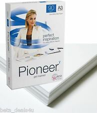 A3 Paper 500 Sheets (1 Ream) 90GSM Pioneer White (297mm x 420mm) Laser Copier