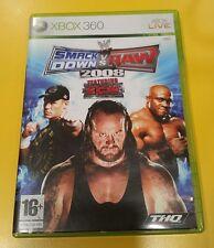 SmackDown Vs Raw 2008 GIOCO XBOX 360 VERSIONE ITALIANA