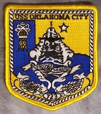 Embroidered Military Patch U S Navy ship Submarine USS Oklahoma City SSN-723 NEW