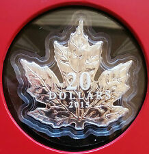 2015 Canada $20 Fine Silver Coin – The Canadian Maple Leaf - With Box & COA