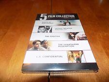 BEST OF WARNER BROS 5 Film Collection Thrillers North by Northwest DVD SET NEW