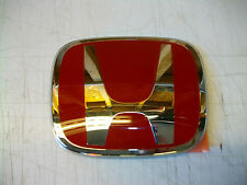 GENUINE HONDA CIVIC TYPE R GRILLE BADGE EMBLEM 2004-2005