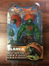 STREET FIGHTER SOTA TOYS BLANKA GREEN ROUND 2 ACTION FIGURE CAPCOM 2005