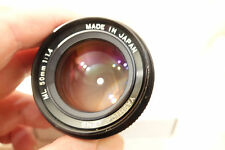 YASHICA ML 50MM F1.4 CONTAX YASHICA C/Y MOUNT FAST PRIME LENS *EXCELLENT*