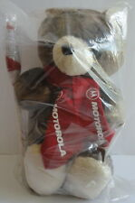 Rare Promotional Motorola Touch Down Football Teddy Bear New Sealed in the Bag