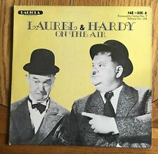 Laurel & Hardy On The Air US 1979 LP Radiola Records