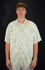 Vintage 80's Men's Guess Designer Georges Marciano Casual Button Up Shirt Size 2
