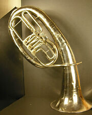 Saxhorn ténor russe en sib/do ЦЕИА 100 РЧБ instrument de musique c1920 Russia