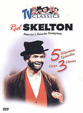 Red Skelton Show: Vol. 3 (DVD, 2003. TV Classics, 5 Episodes, 3 hours)