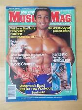 MUSCLEMAG bodybuilding muscle magazine/LOU FERRIGNO & MOHAMED MAKKAWY 8-83
