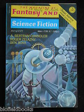 Vintage Magazine of Fantasy & Science Fiction - August 1971, Isaac Asimov (SF)