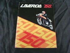 BROCHURE MOTO LAVERDA 750 SF DEPLIANT ORIGINALE D'EPOCA OLD BIKE ITALY
