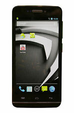 Wiko Wax negro ruckläufer Android 4.3 Bluetooth LTE whatsapp internet LTE WLAN