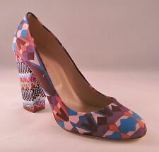 J Crew Blakely Mixed-Print Pumps - 8