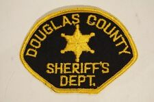US Douglas County Sheriffs Department Police Patch Obsolete 1