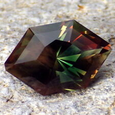 CHROME GREEN-TEAL-COPPER SCHILLER OREGON SUNSTONE 4.25Ct FLAWLESS-INVESTMENT