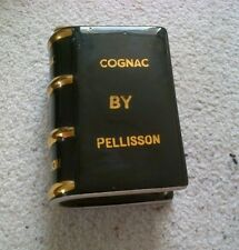 Cognac by Pellisson Vintage Bottle shaped like a Book -Excellent Condition