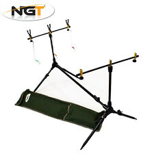 NGT Complete Session Rod Pod Tripod with 3 Indicators 3 Rest Heads and Buzz Bars