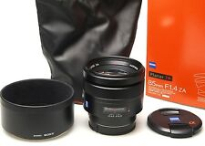 Sony Carl Zeiss Planar T* SAL85F14Z 85mm F/1.4 ZA
