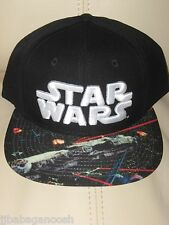 STAR WARS Rogue ONE movie MILLENNIUM Falcon YODA Men's New OSFM Snapback HAT Cap