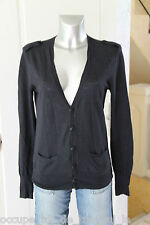 joli gilet marine ZADIG & VOLTAIRE  canelle TAILLE S (38)