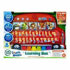 Brand New LeapFrog Touch Magic Learning Bus Kids Educational