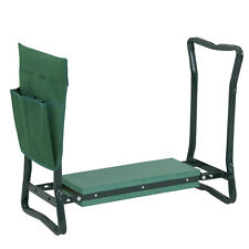 Folding Garden Kneeler Gardener Kneeling Pad Soft Cushion Bench Seat