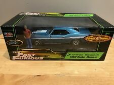 1/24 JoyRide Ertl Fast and the Furious 1969 Yenko Camaro Brian O'conner FIGURE