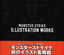 Monster Strike Illustration Works Book
