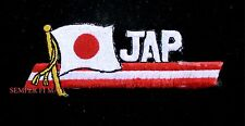 JAPAN FLAG PATCH ARMY NAVY AIR FORCE JAPANESE RISING SUN KAMIKAZE PIN UP TOKYO