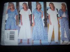 BUTTERICK #4552 - LADIES ELASTIC WAIST SKIRT-SHORTS-PANTS & TOP PATTERN  XS-M uc