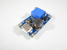 1A max. 2A step up modul in: 2-24VDC out: 5-28VDC DC DC Boost USB Arduino 319