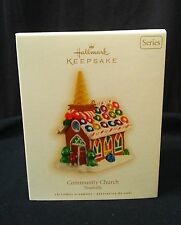 Hallmark 2009 Community Church Noelville 4th of Series MNRFB Gingerbread Style