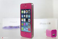 iPhone 4s-16gb (Gsm Unlocked) Custom Rose Straight talk Metro pcs Cricket