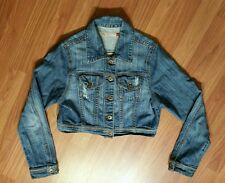 Woman's Jean JACKET GJG BLUE Size Medium MADE IN USA!