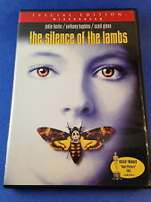 Silence of the Lambs (DVD/2001) Jonathan Demme/Foster/Hopkins/Glenn/Levine
