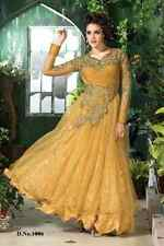 Bridal wear Long Pakistani Anarkali, Long heavy work Gown Designer Indian Dress