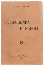 M. SERAO-LA LEGGENDA DI NAPOLI -PERRELLA 1906-1907-CARBONERIA ABELA-A51