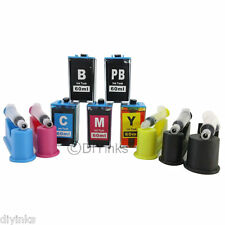 DIY Ink Refill System kit for HP 564 XL B8553 D5460 D7560 Cartridge 5 Color