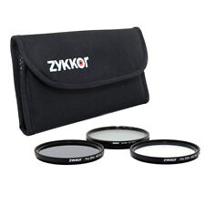 Pro Slim 72mm Filter Kit MC UV CPL ND for Canon EOS 7D