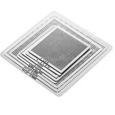 8×Metal BGA Direct Heat Stencils Reballing Acessories Tool Set 0.3-0.76mm F5U2