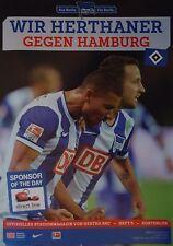 Stadionmagazin 2014/15 hertha bsc berlín-hamburgo SV