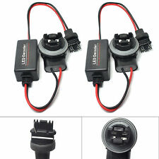 2x 3156 3056 Hyper Flash Fix Error Free Wiring Adapter For LED Turn Signal Light